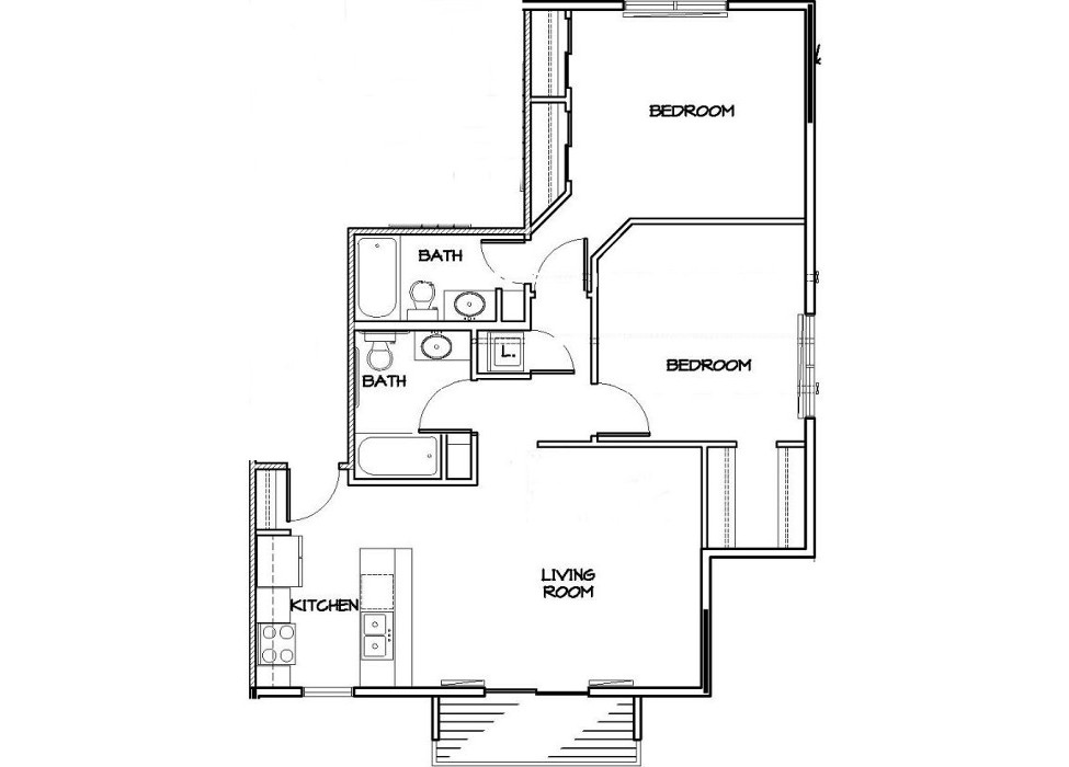 End Unit Floor Plan Website Roush Rentals
