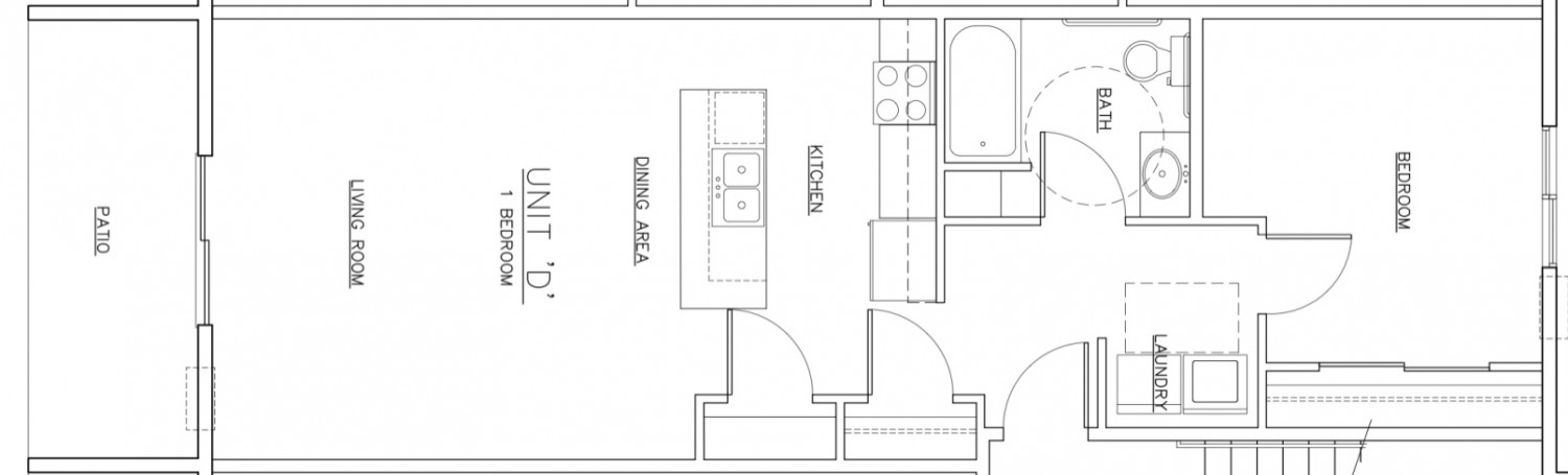 Waterview D Unit Floor Plan
