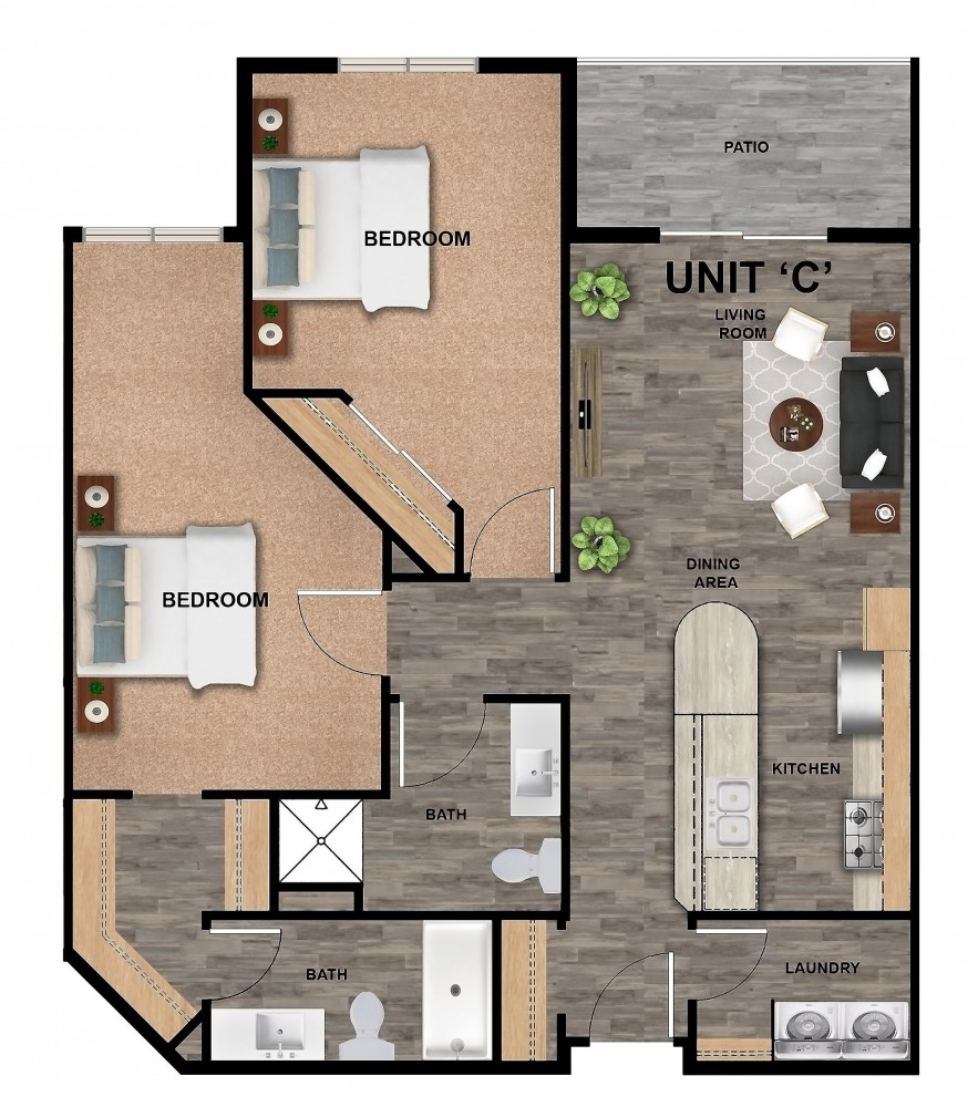 707-C-Unit Color Floor Plan (3)